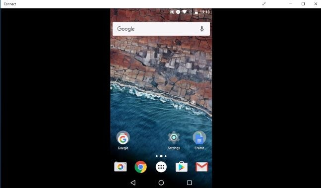 screen mirroring android and casting