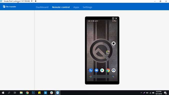 casting android screen to pc with chromecast