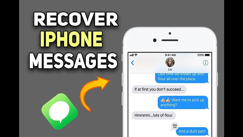 recover iphone messages