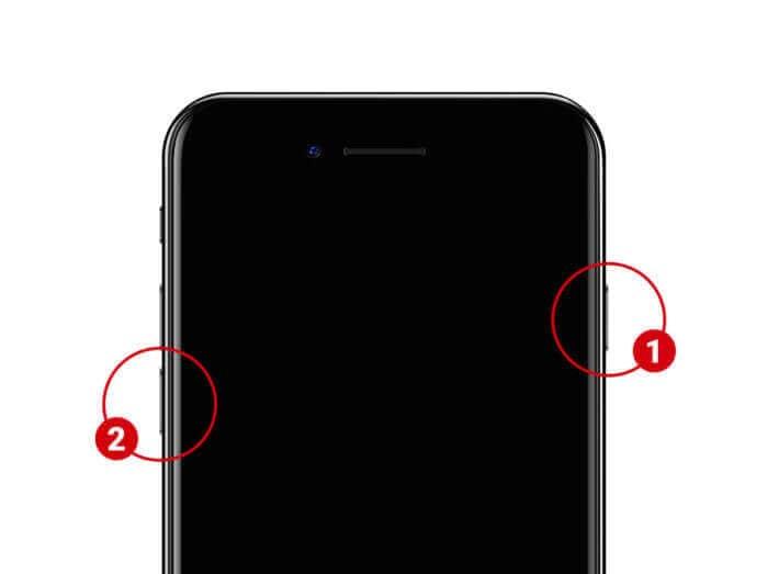 iPhone 7 DFU mode