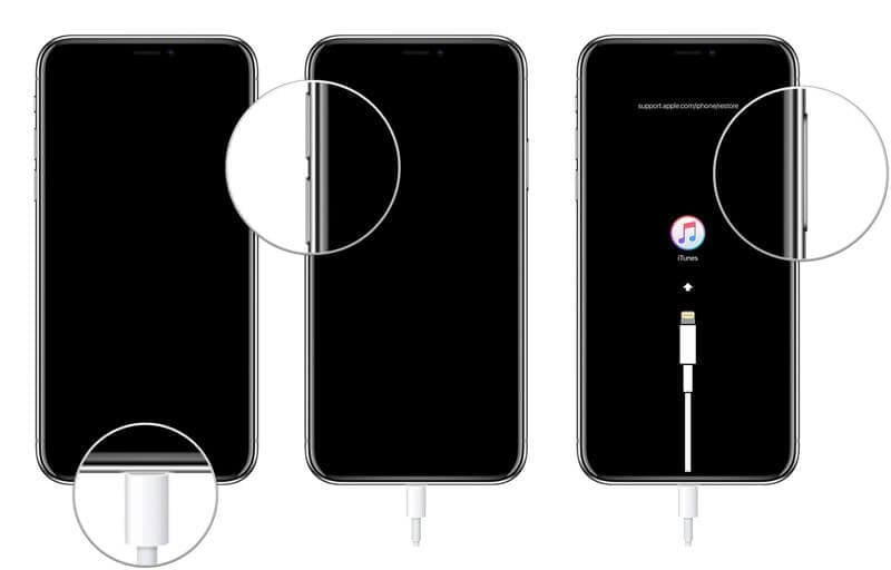 iPhone 8 recovery mode