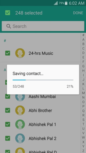 transfer android to ios