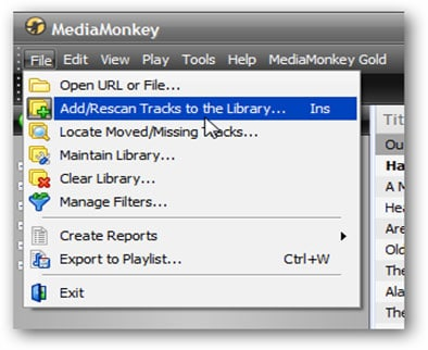 Transfer Music to iPhone from PC with MediaMonkey-1