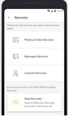 recover android sms with Dr.Fone app