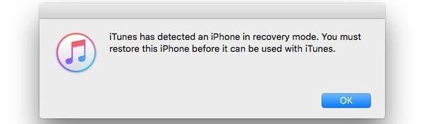 restore frozen iPhone in dfu mode