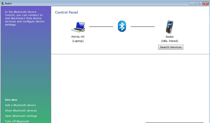 Transfer Music from Phone to Computer with Bluetooth