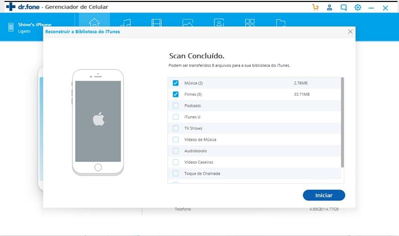 Transferir playlists de Música do iPad para o iTunes rapidamente