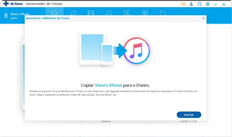 transfer music from iPod to iTunes