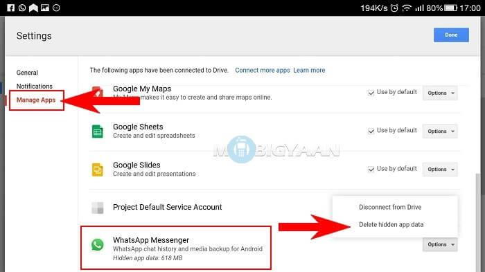 visit managing apps