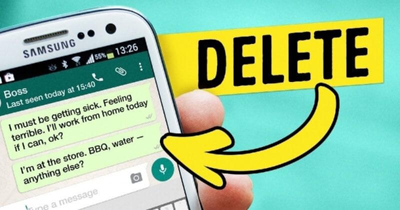 Delete-messages