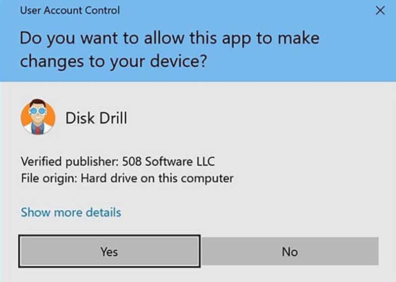 installer disk drill