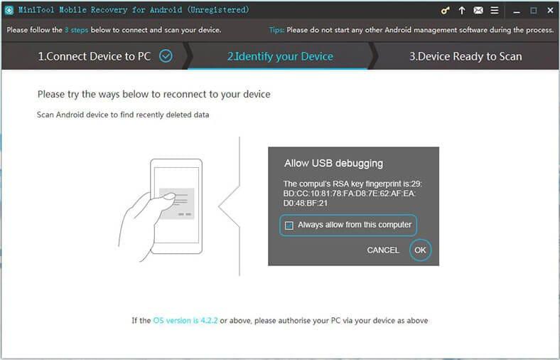 usb debugging authorization