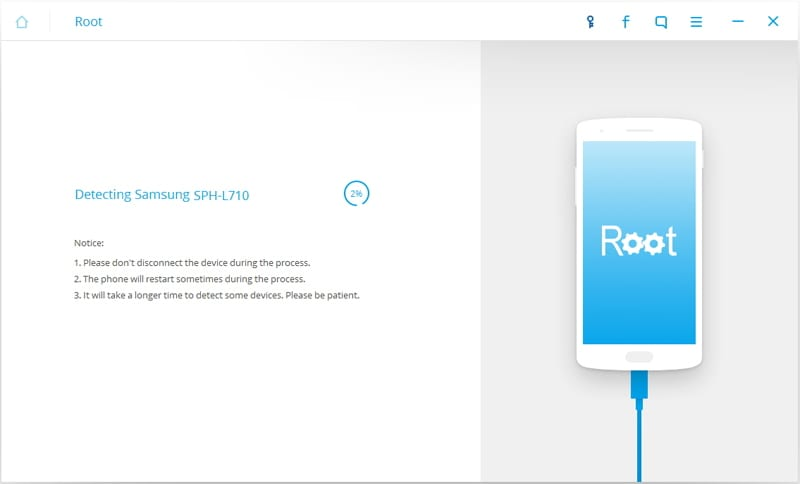root sm g900f - detect the phone