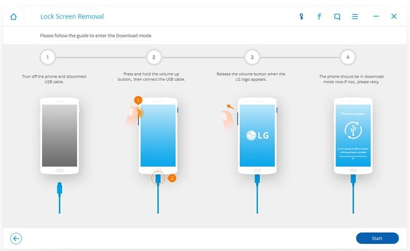 unlock lg phone - launch drfone