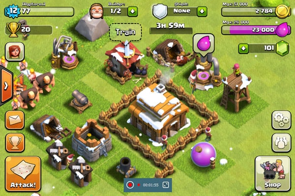 Neem Clash of Clans op