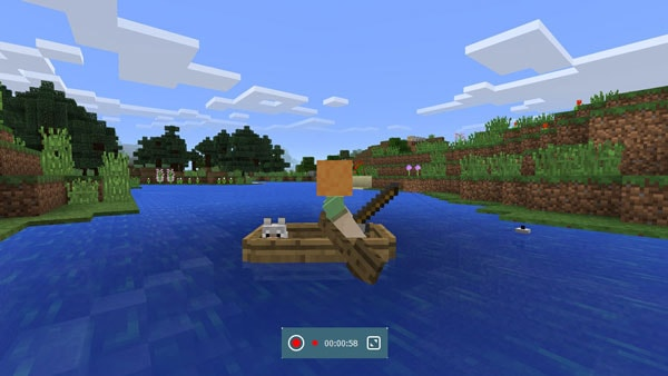 record Minecraft from iPhone