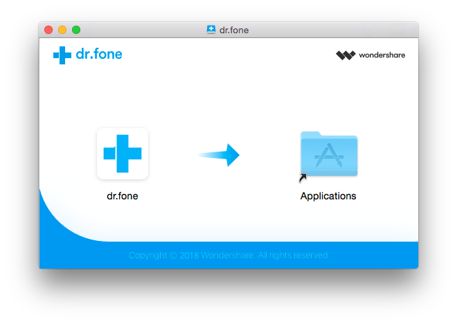 install Dr.Fone on mac