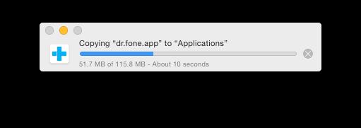 install Dr.Fone on mac