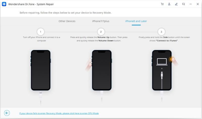 iphone 8 im wiederherstellungsmodus starten