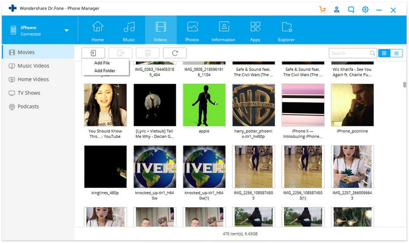 how to import videos from mac to iphone