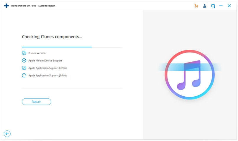 check itunes components
