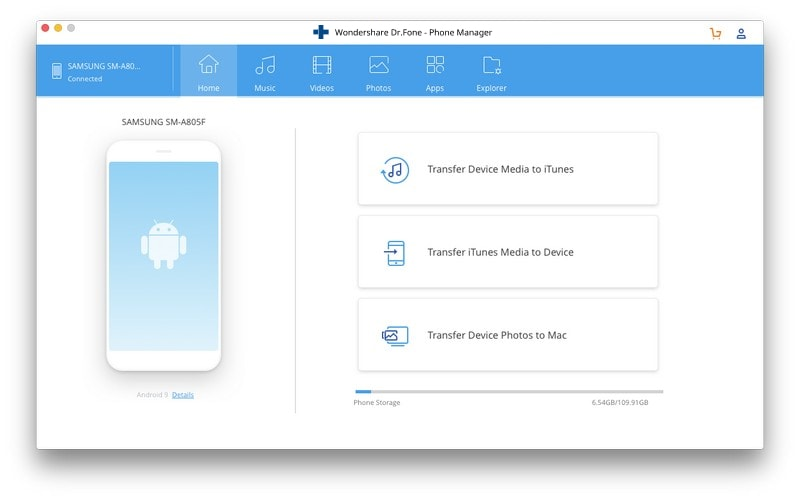 android file transfer mac- attach your Android device to your Mac