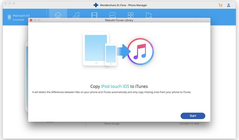 How to transfer music from ipod touch to itunes on Mac-Copy iDevice to iTunes