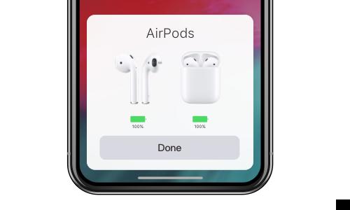 Problème avec iOS 12 - airpod