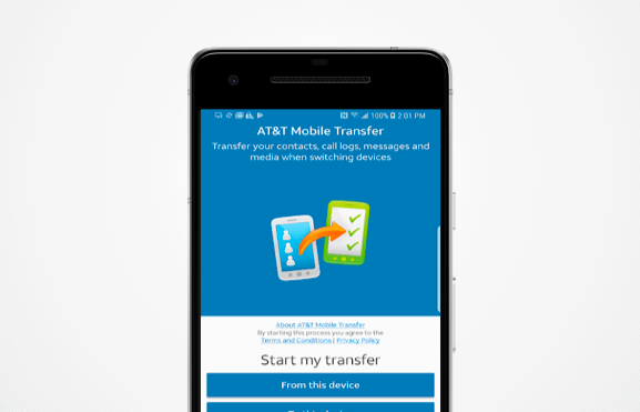 phone to phone transfer apps - att mobile transfer