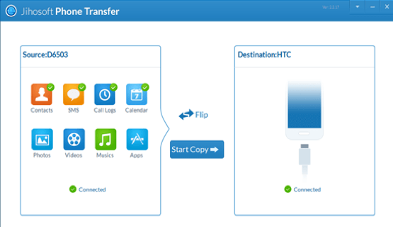 phone to phone transfer software - jihosoft
