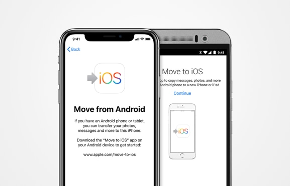 phone to phone transfer apps - move to ios