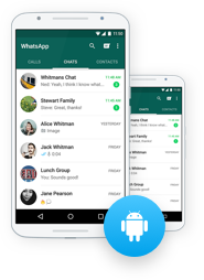 restore android whatsapp chats