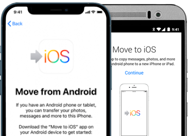 move to ios from android