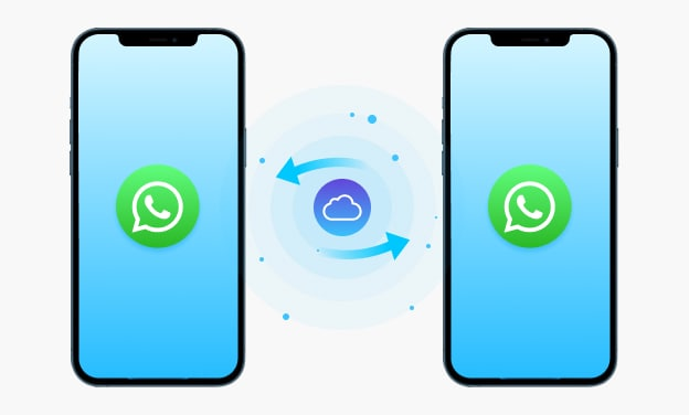 using icloud to transfer whatsapp