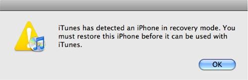 iPod Bloccato in Modo Recovery. Come Ripararlo?