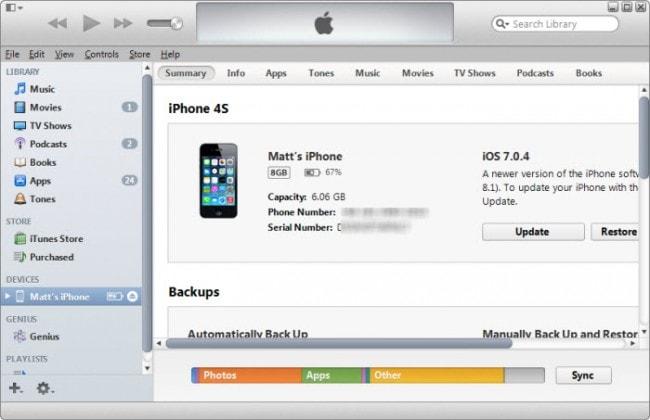 Esportare Note da iPhone