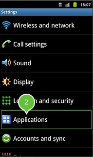 android version 2.0 and 2.3 enable usb debugging