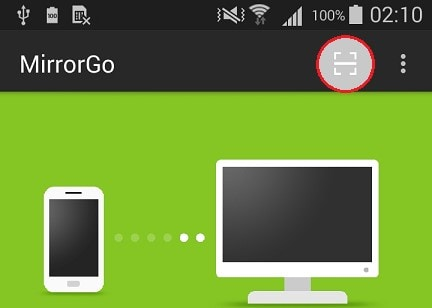 how to connect mirrorgo app with pc via wifi