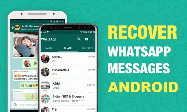 Recover whatsapp messages android