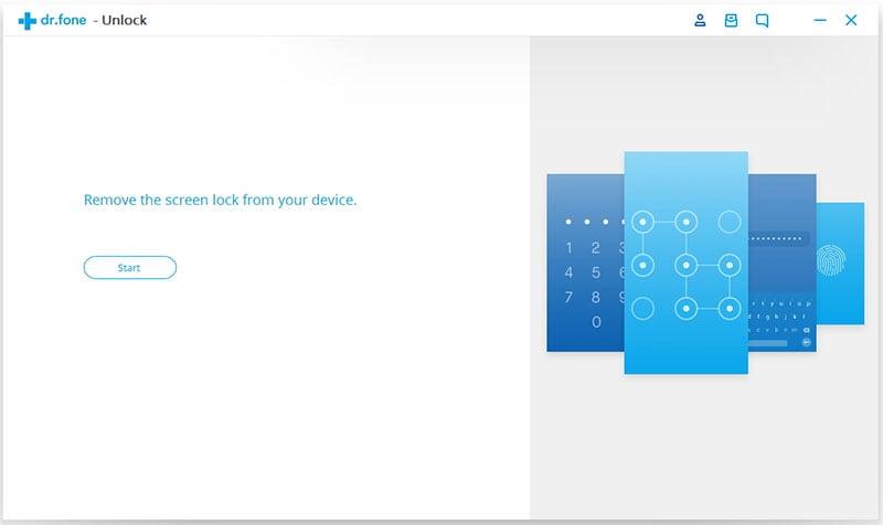 verbind apparaat om android vergrendeld scherm te verwijderen