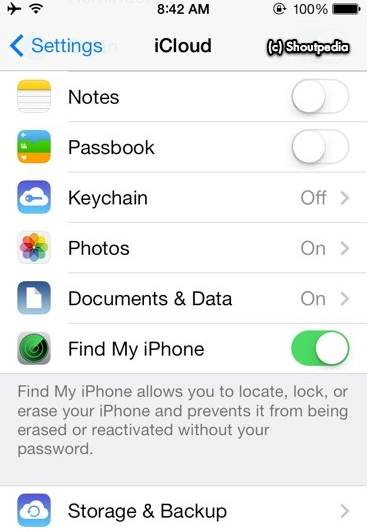 remove iCloud account without password