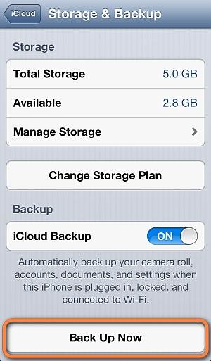 difference between iTunes and iCloud backups