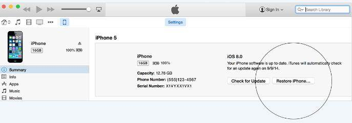 restore iTunes and iCloud backups