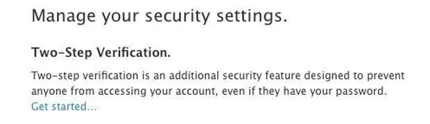 receive password on your chosen device