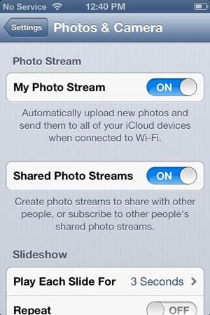 access iCloud photos
