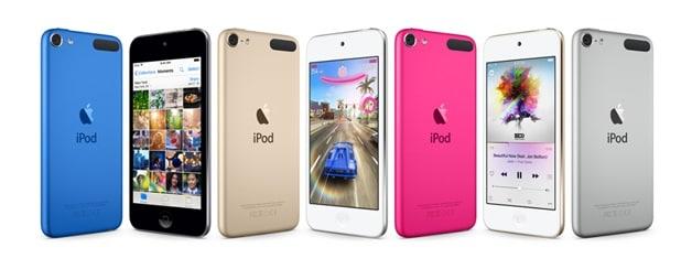 unfreeze an iPod touch