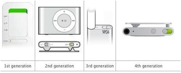 unfreeze an iPod shuffle