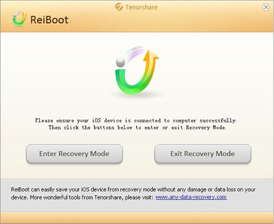 DFU mode tool Reiboot