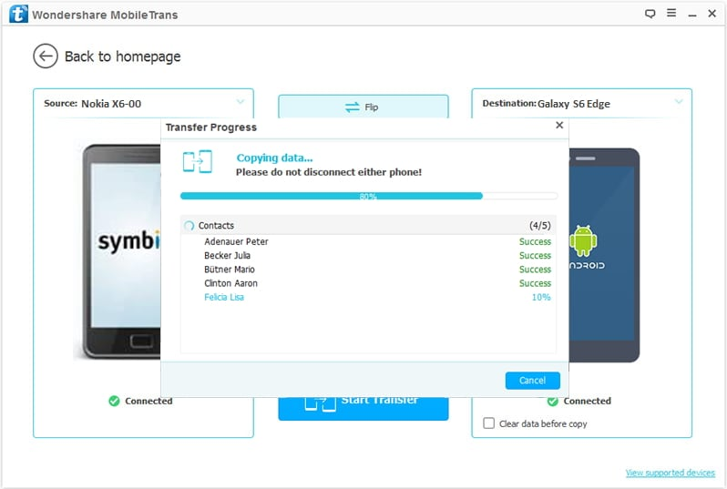 Transfer van Nokia naar Android