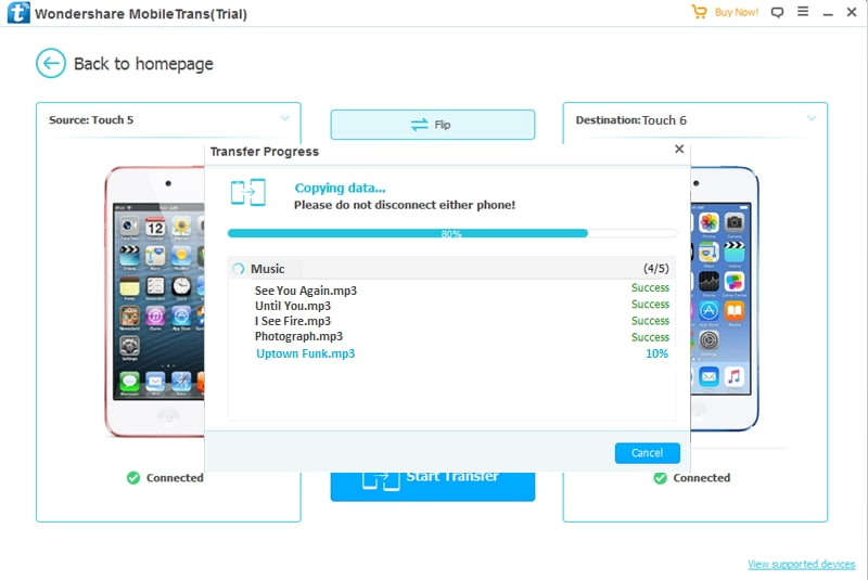transfer from iPod to iPod